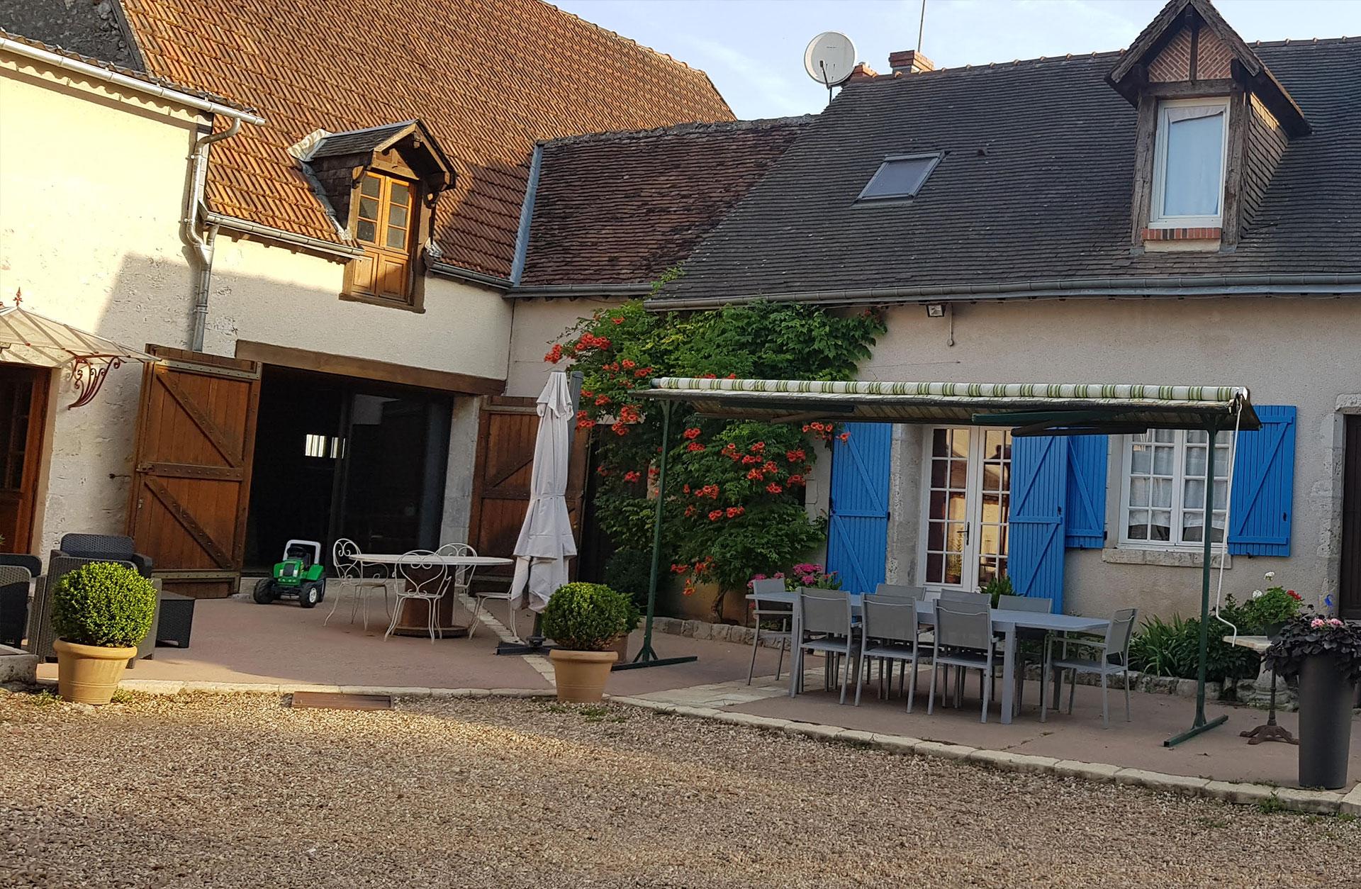 La Bergerie • Chambres et table d h´tes dans le Loir et Cher